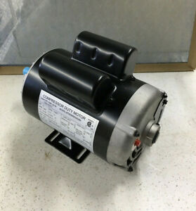 2hp Compressor Motor 3450rpm 120 240v 1ph 60 hz Ccw 56 Odp Sears 160 0264
