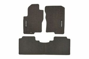 Oem New 2007 2008 Genuine Nissan Frontier 3 Piece Charcoal Carpeted Floor Mats