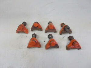 Allis Chalmers B Tractor Original Ac Rear Wheel Clamps And Bolts
