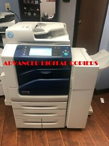Xerox Workcentre 7855i Color Printer Copier Scanner Mfp Low Meter Only 15k