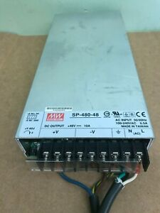 Mean Well Ac dc Converter 48v 480w Power Supply Sp 480 48