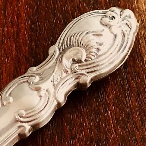 American Sterling Silver Handled Fish Filet Knife Victorian Pattern No Mono