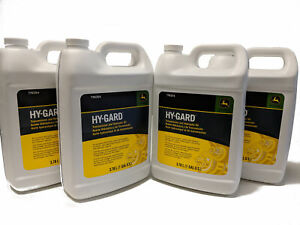 John Deere Original Equipment Gallon sized Hy gard Oil Ty6354 4 Gallons