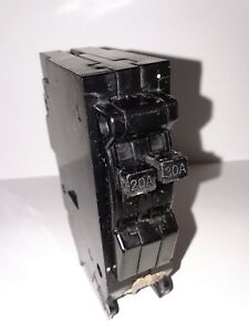 General Electric Tr2030 2 Pole 20 30 Amp 240v Type Tr Circuit Breaker