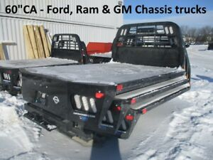 Cm Flatbed Body New Rd 9 4 Dually Chassis Bed Fits Ford Chevy Dodge 218498