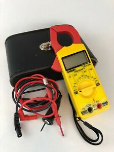 Sperry Instruments Dsa400 Digital Snap around Clamp Meter Fast Shipping