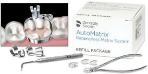 Automatrix Matrix System Refill Narrow Regular 72 bx By Dentsply Fresh