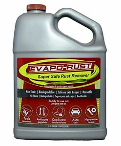 Evaporust Super Safe Rust Remover 1gallon Fluids Supplies Cleaning Home Tools