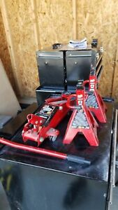 Torin Big Red 2 Ton Hydrolic Jack With Stands
