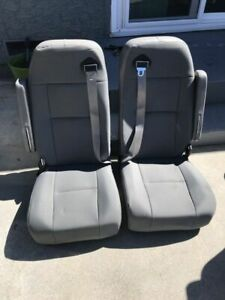 Bus Rv Van Conversion Seats With Built In Seatbelts