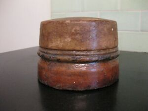 Hat Block Small Pillbox Crown