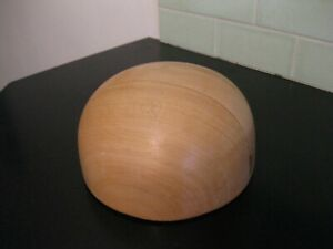 Hat Block Round Crown