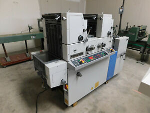 Ryobi 3302m 2 color Offset Printing Press