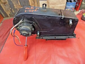 Mgb Heater Assembly Smiths 2 Speed Blower Motor No Rust Or Damage