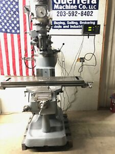 Bridgeport Milling Machine W Dro