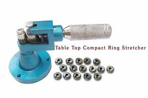 Ring Stretcher enlarger jewellers Tool 16 Collets