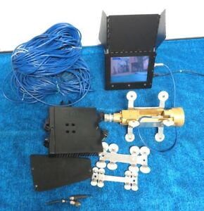 Uemsi Jet Cam Sewer Camera System W 500ft Cable