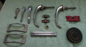 Exterior Door Handles And Misc Parts For 1948 To 1952 F1 To F5 Ford Pickup Truck