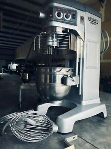 Very Nice Used 2012 Hobart 60 Qt Legacy Hl600 Mixer 460v 3ph