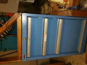 Lista 3 Drawer Industrial Tool Cabinet 23 X 29 X 34