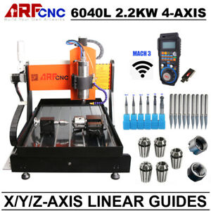 Network Port 6040l 2 2kw 4axis Cnc Engraving Machine With Water Cooling System