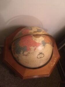 Heirloom Globe By Replogle 20 Inch Diameter Lights Up