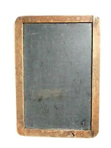 Antique Old School House Desk Slate Chalkboard 12 1 2 By 8 1 2 Inches