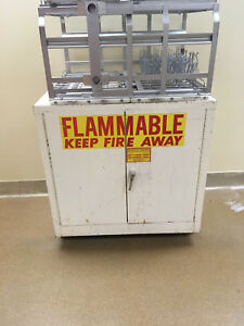 3 Flammable Laboratory Storage Cabinet 36 Tall