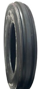 2 New Tires 7 50 16 Deestone 3 Rib F 2 8 Ply Tubetype 750 16 Tractor Front Sil