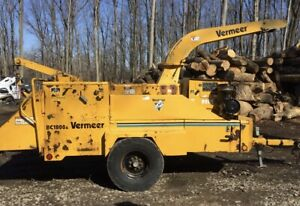 2003 Vermeer Bc1800 With Hydraulic Winch 2624