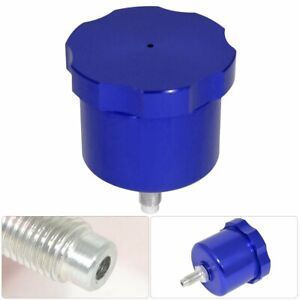 Universal Blue Jdm Oil Can E Brake Hand Brake Fluid Reservoir Handle Hydraulic