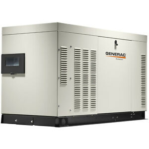Generac Protector reg 25kw Automatic Standby Generator aluminum 120 240v S