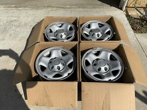 16 Toyota Tacoma Factory Stock Wheels Rims Styled Steel Wheels Rims