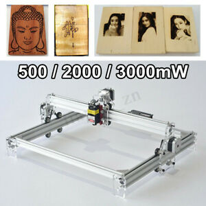 500 2000 3000mw Diy Mini Laser Engraving Machine Marking Wood Printer Engraver