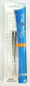 Paper Mate Phd And Ultra Ballpoint Pen Refills Medium Point Black Ink