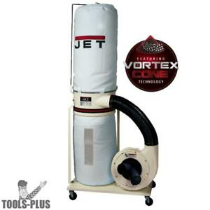 Jet 710701k Dc 1200vx bk1 2hp 1ph 230v Vortex Dust Collector New