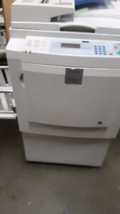 Ricoh Dx3343 Digital Duplicator With Adf And A Low Meter