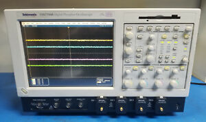Tektronix Tds7704b 7 Ghz 20gs s Digital Sampling Oscilloscope W Ssd