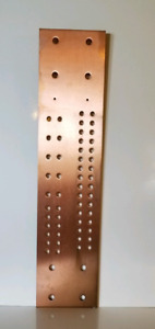 Copper Pattern Busbar 26 X 6 X 1 4