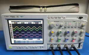 Agilent Mso8104a 1 Ghz 4 Channel 4gsa s Mixed Signal Oscilloscope W Ssd
