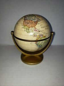 World Globe On Stand Approx 5 X5
