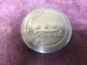 Vintage Ford Stainless Horn Button Emblem Steering Wheel