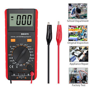 Digital Multimeter 6000counts Trms Ac Voltage Current Meter Tester Auto Ranging