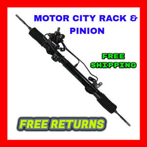 Reman Power Steering Rack And Pinion Assembly Fit 2007 2012 Nissan Altima