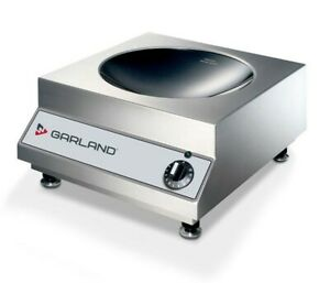New Garland Induction Counter Top Wok Line Model Sh wo 3500