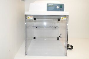 Airclean Systems 24 Hepa Uvtect Class100 Pcr Workstation Ac624lfuv