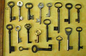 Skeleton Keys Wholesale Handpicked Premium Collection Lot Old Antique Vintage