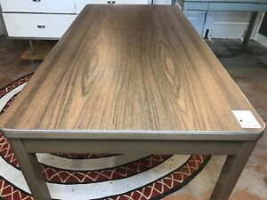 Vtg Industrial Midcentury Retro Tanker Stick Desk Table Local Pick Up Only