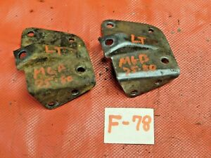 Mgb Mga Engine Left Motor Mount Bracket 75 80 Original