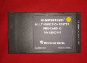 Vetronix Mastertech Toyota lexus Program Card Mts 3100 Diagnostic Scanner 89 07